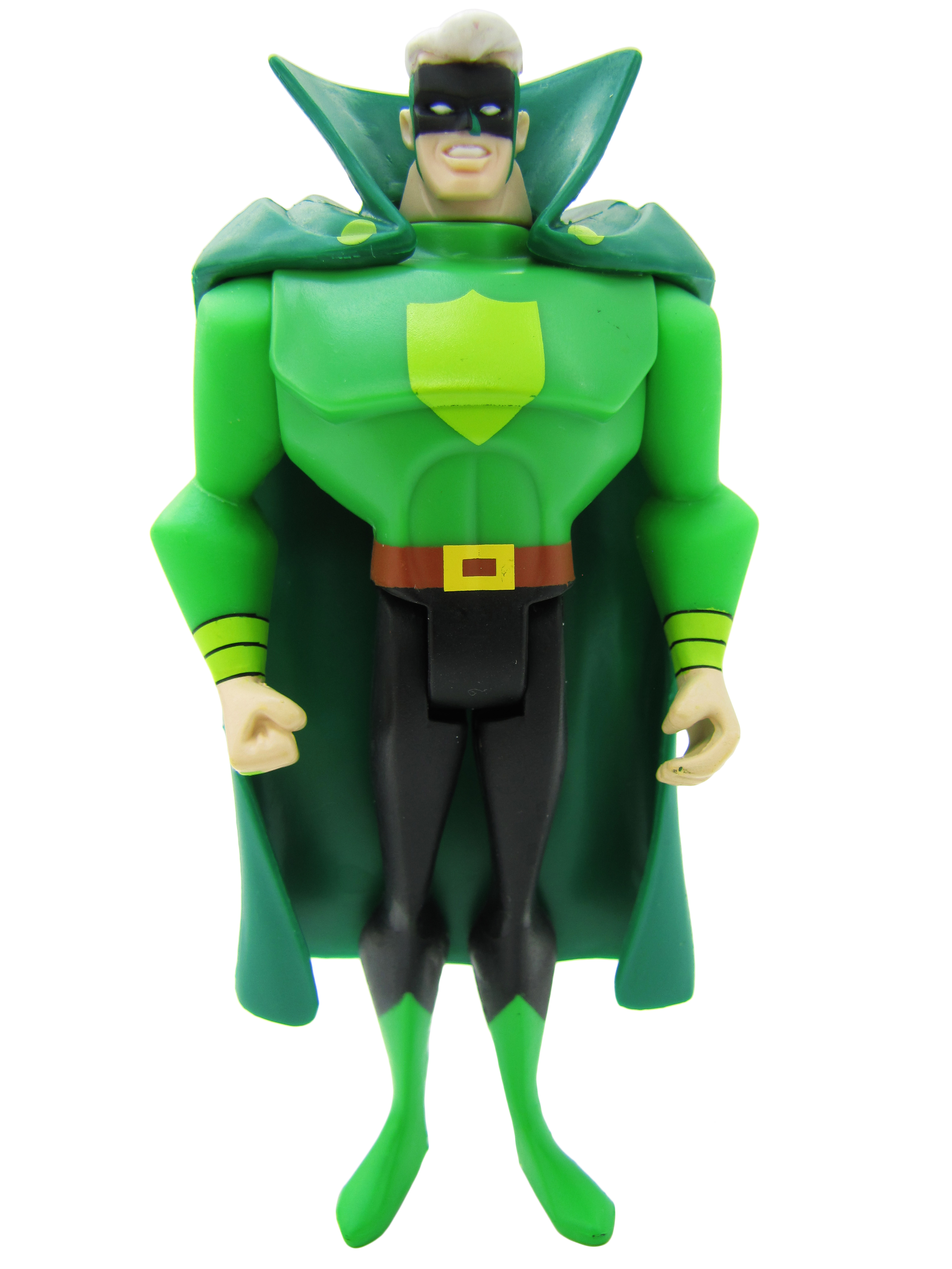 2009 Justice League Unlimited MATTY COLLECTOR JUSTICE GUILD GREEN GUARDSMAN Mint