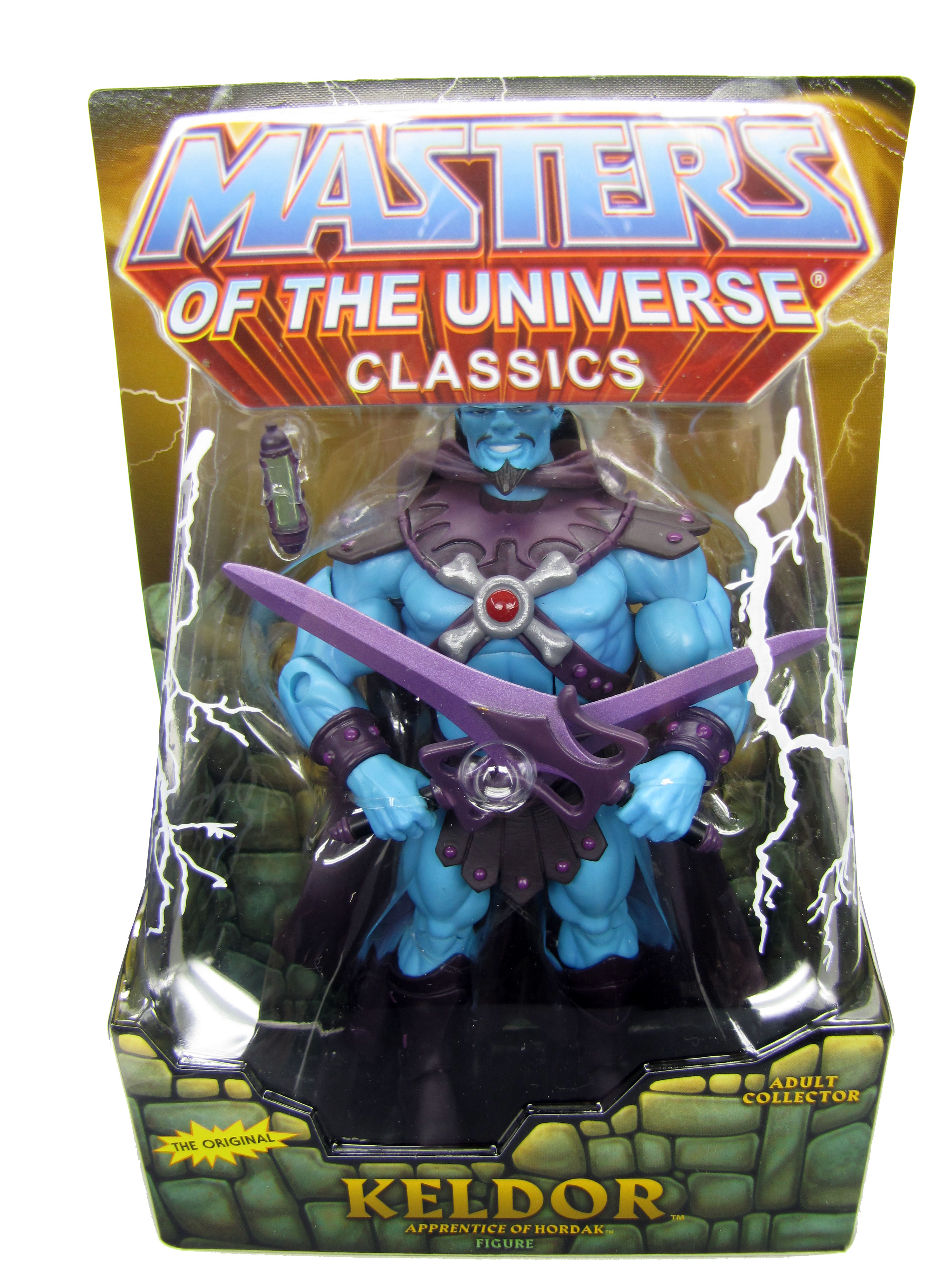 2010 Masters of the Universe Classics Keldor Sealed Mint on Card