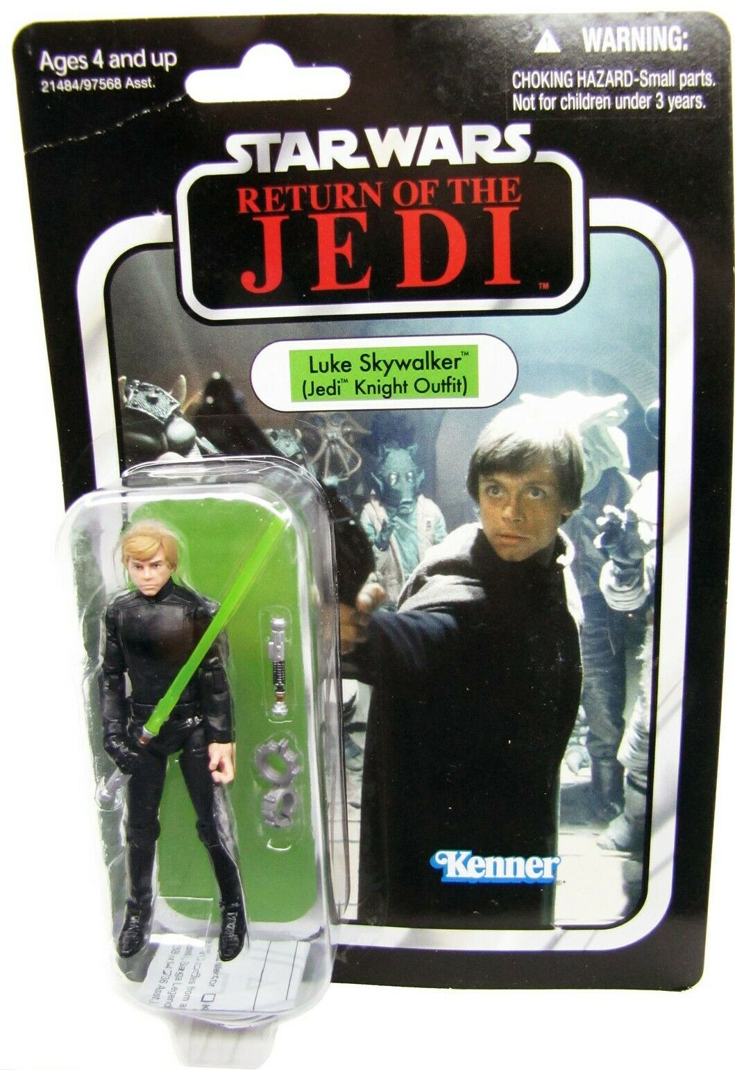 2010 Star Wars Vintage Collection Return of the Jedi LUKE SKYWALKER JEDI KNIGHT