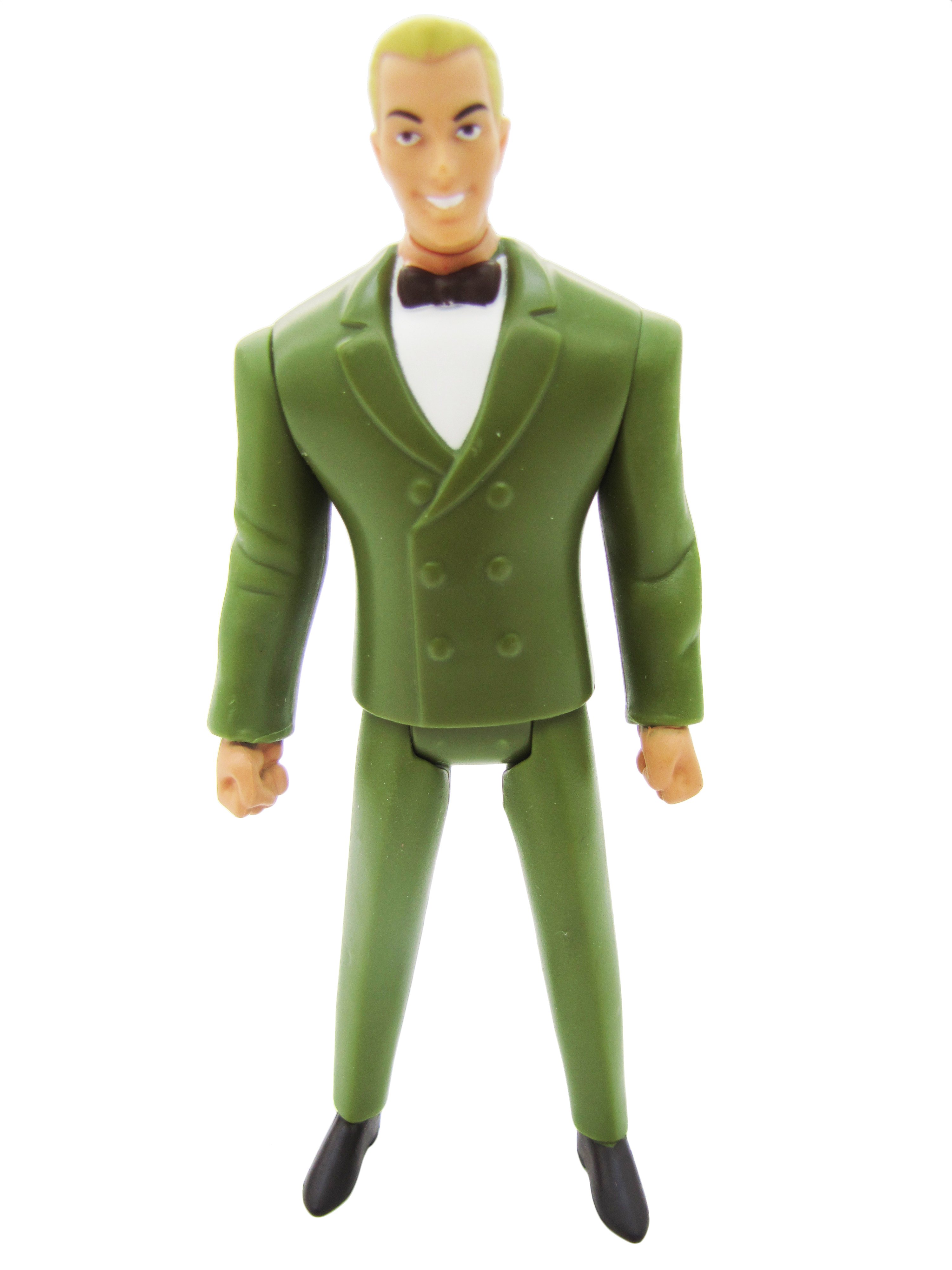 2011 Justice League Unlimited MATTY COLLECTOR FAN DEMANDED PACK JOHNNY THUNDER