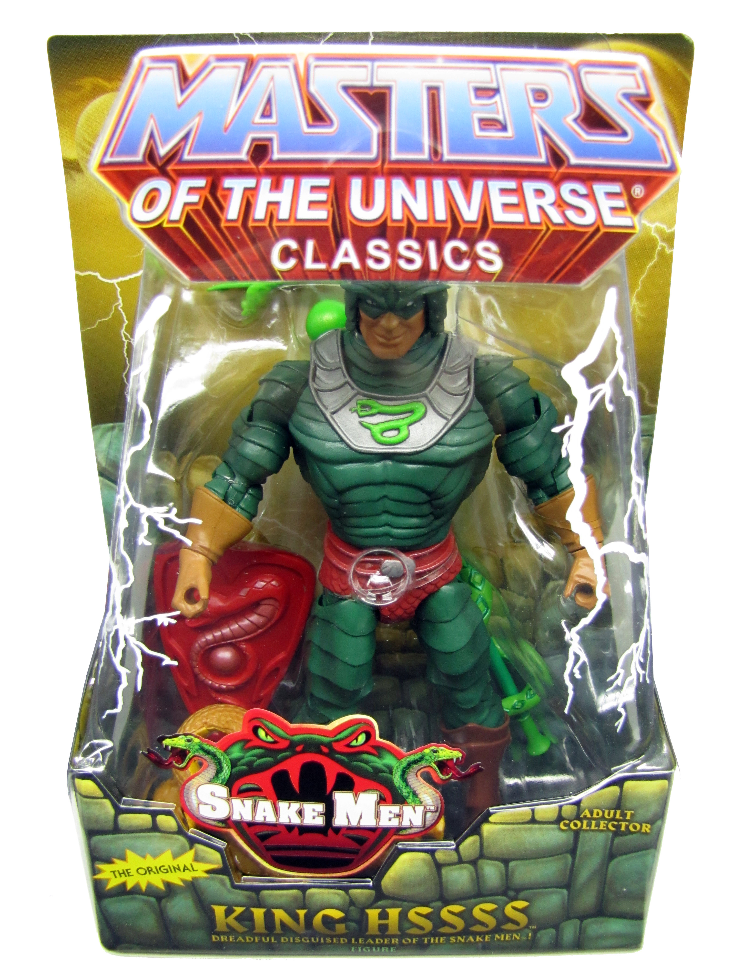 2011 Masters of the Universe Classics King Hssss Sealed NEW