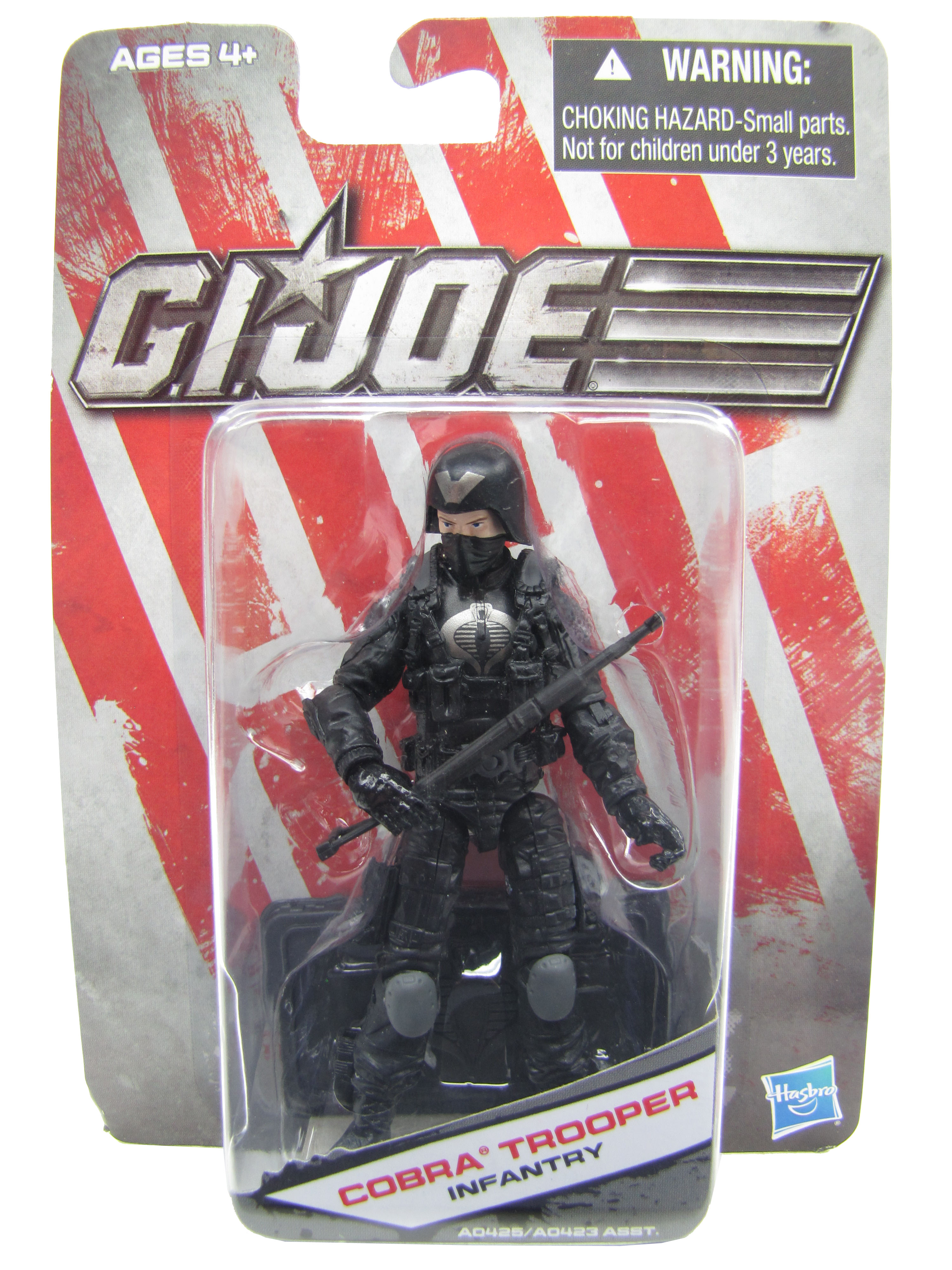 2012 GIJoe Dollar General Cobra Trooper Mint on Card