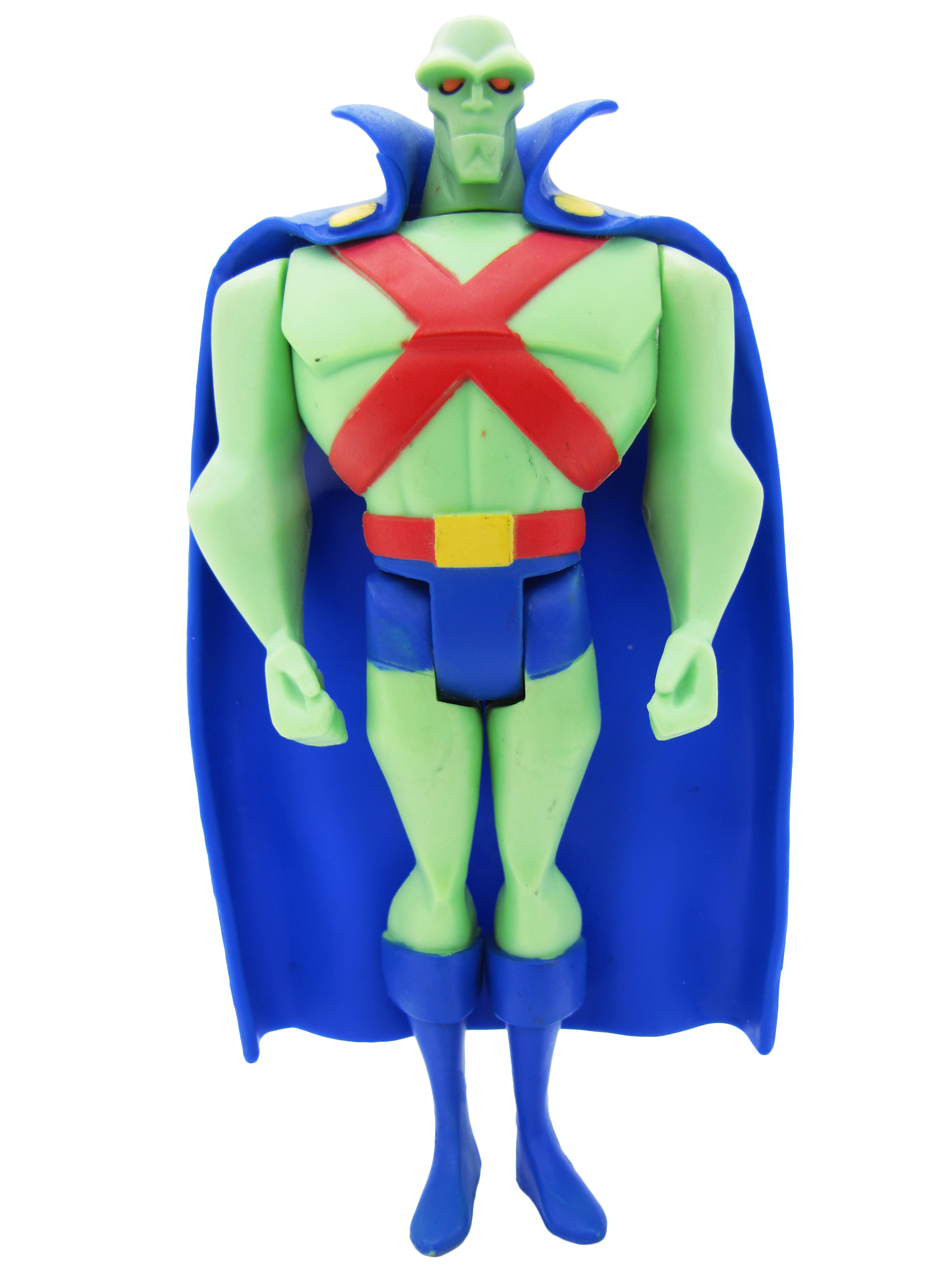 2012 Justice League Unlimited MATTY COLLECTOR GUY GARDNER PACK MARTIAN MANHUNTER