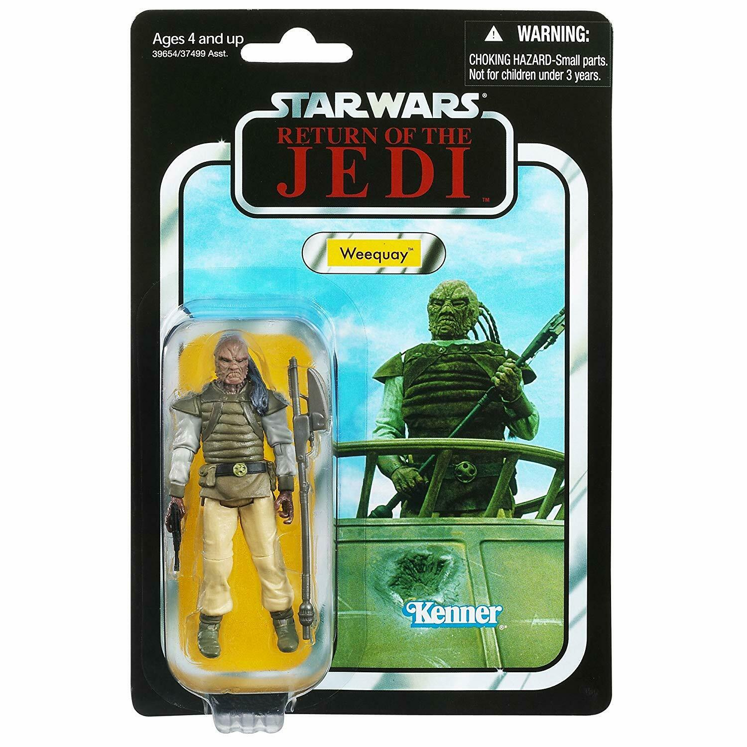 2012 Star Wars Vintage Collection Return of the Jedi WEEQUAY HUNTER MOC