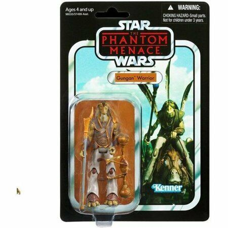 2012 Star Wars Vintage Collection The Phantom Menace GUNGAN WARRIOR MOC
