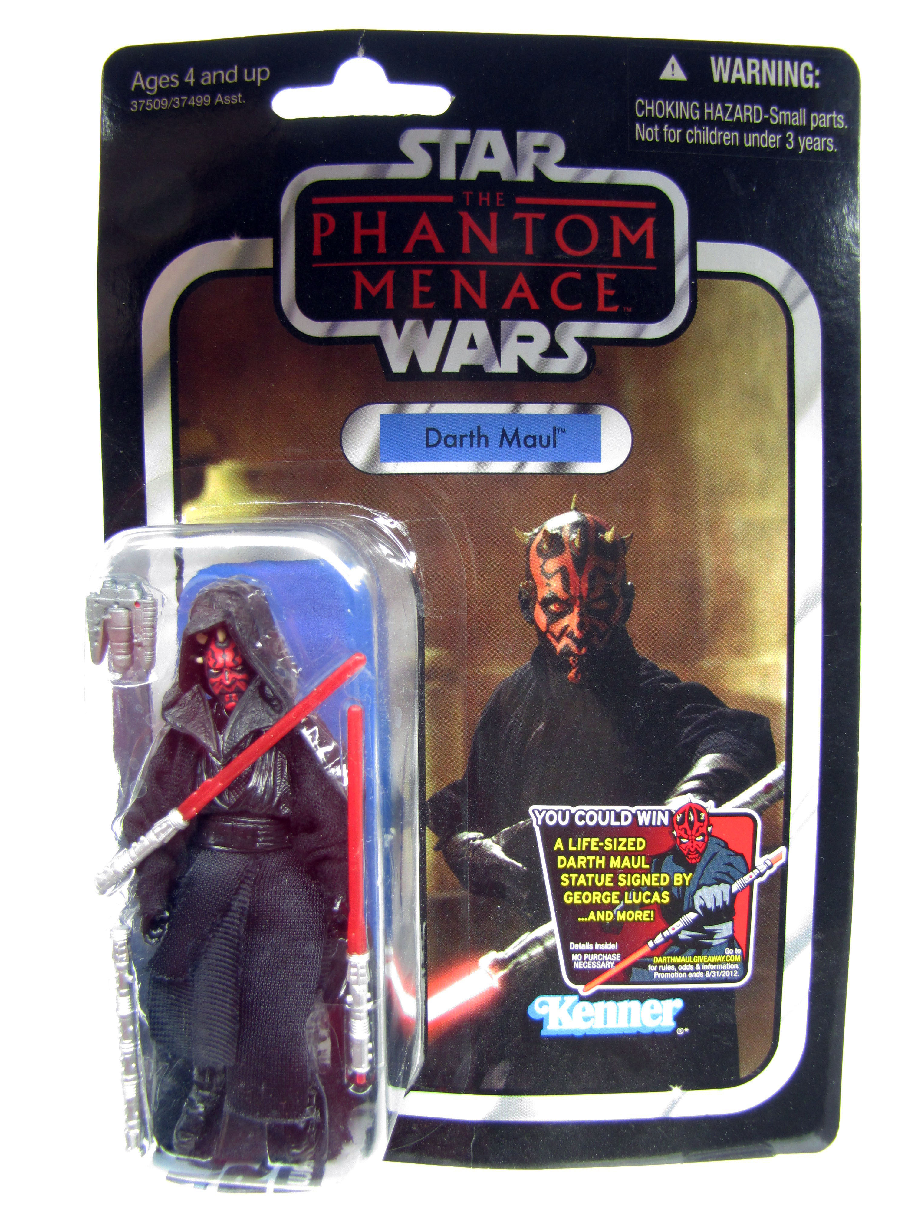 2012 Vintage Collection The Phantom Menace Darth Maul Sealed MOC