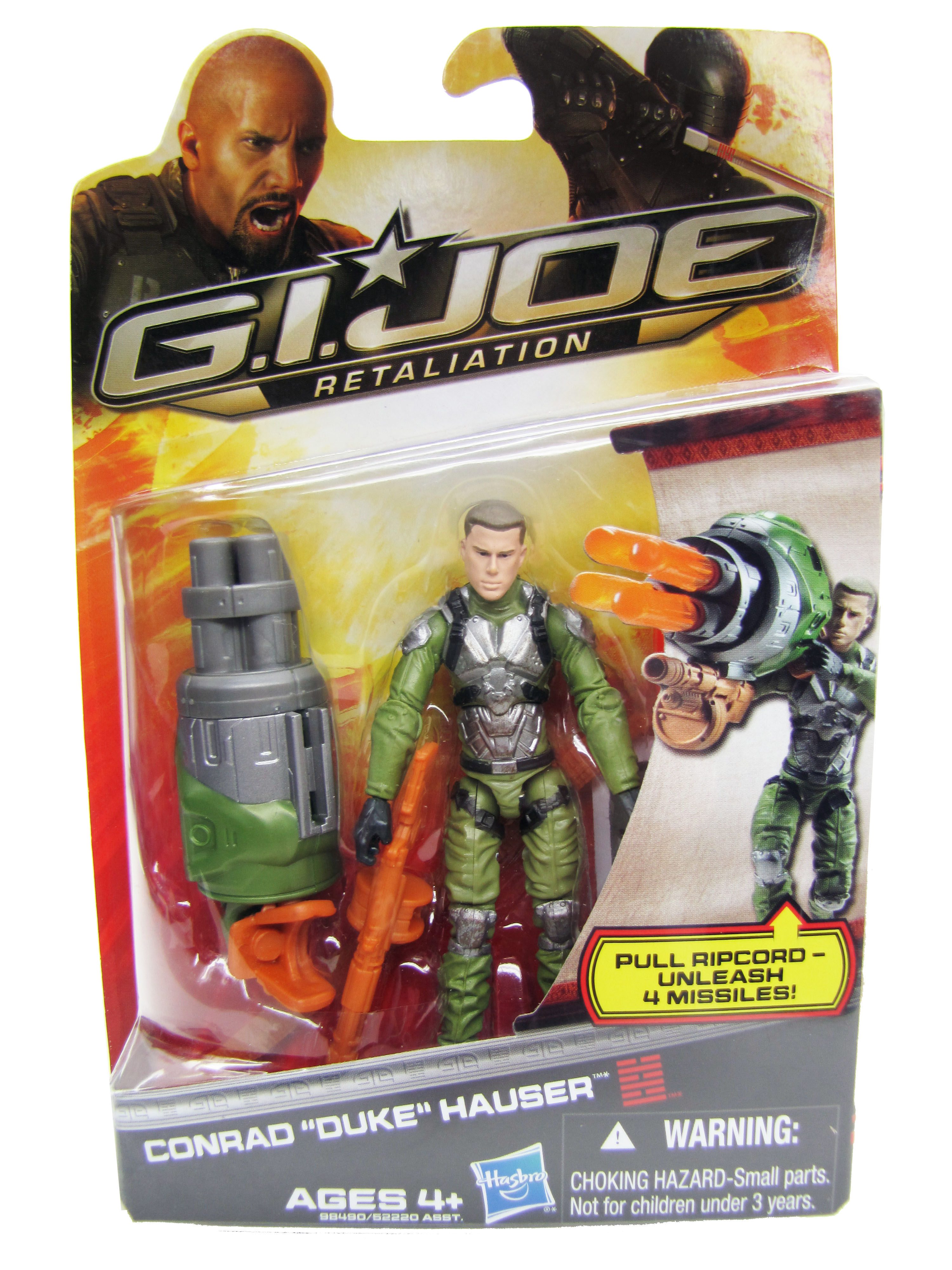 2013 GIJoe Retailation Conrad Duke Hauser Mint on Card