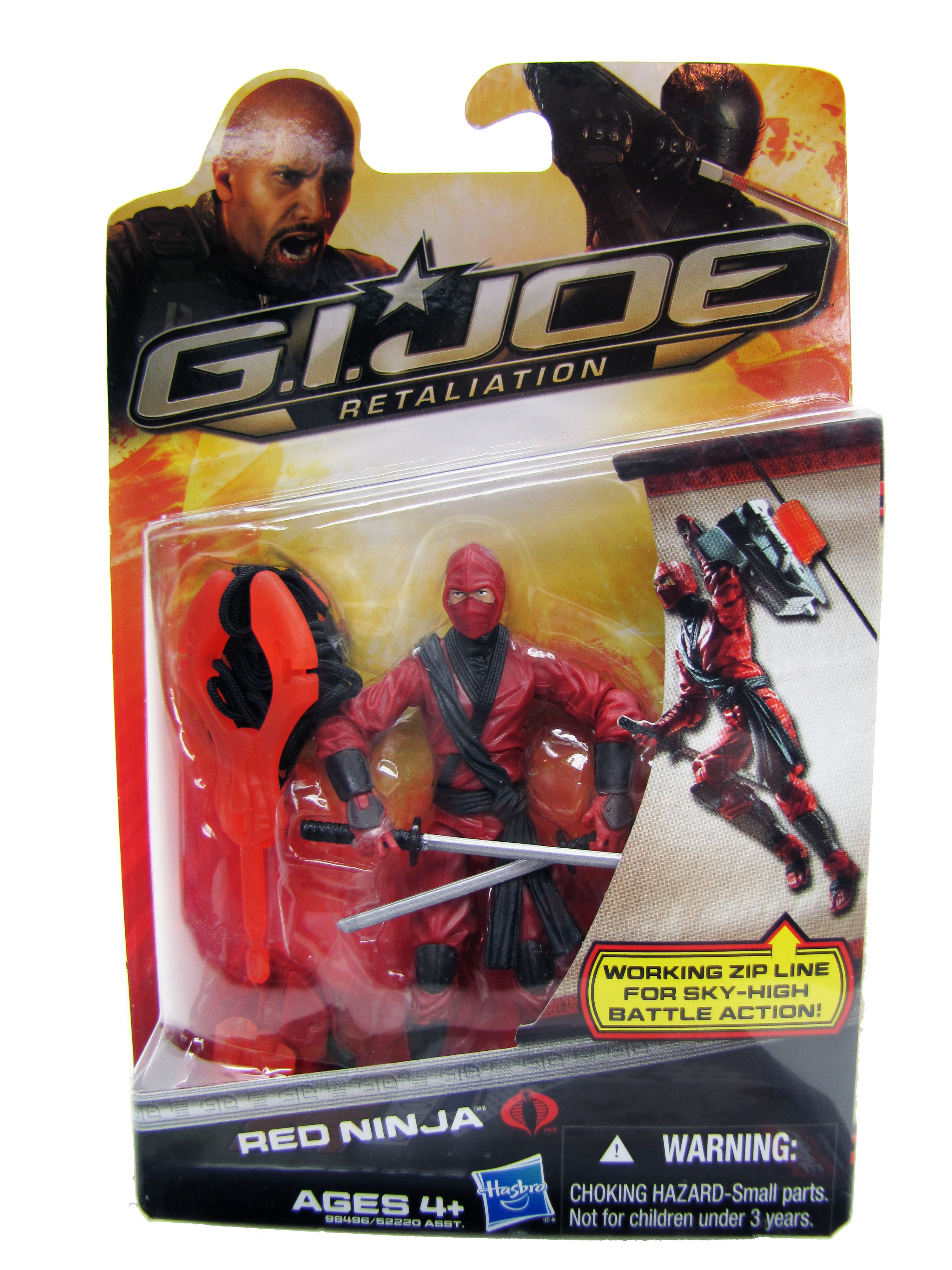 2013 GIJoe Retailation Red Ninja Mint on Card