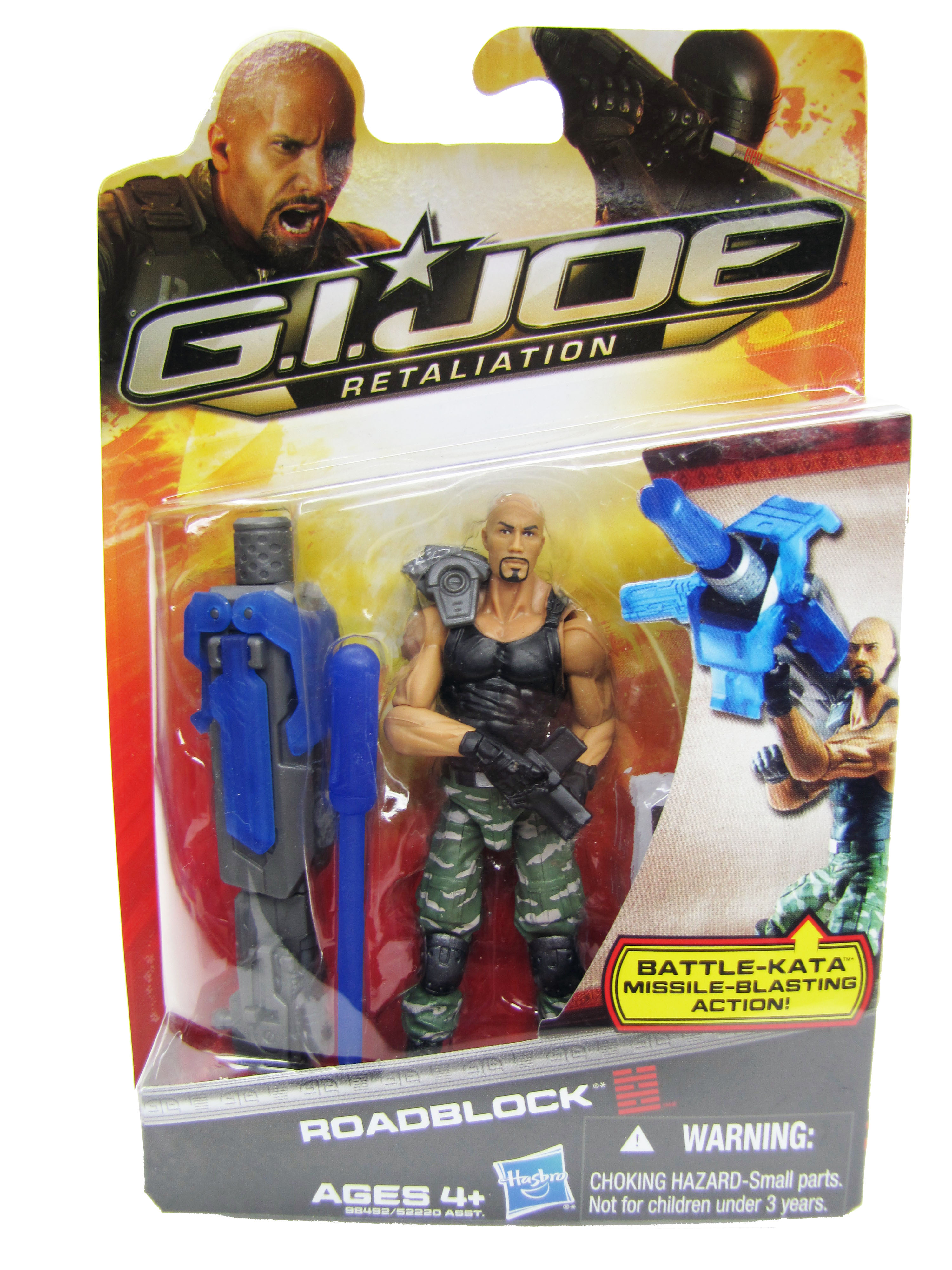 2013 GIJoe Retailation Roadblock Mint on Card