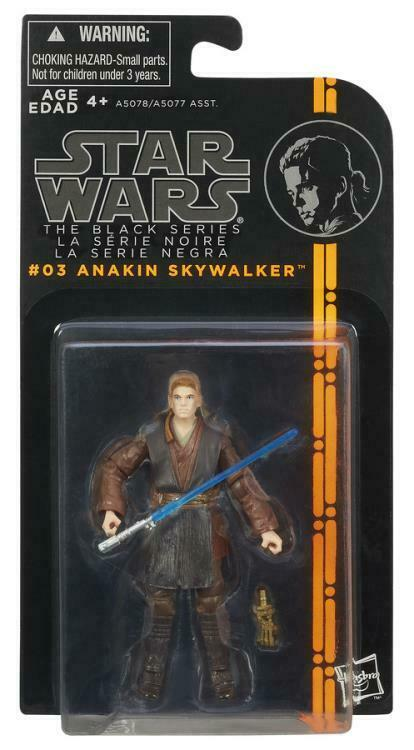 2013 Star Wars The Black Series #03: ANAKIN SKYWALKER Sealed MOC