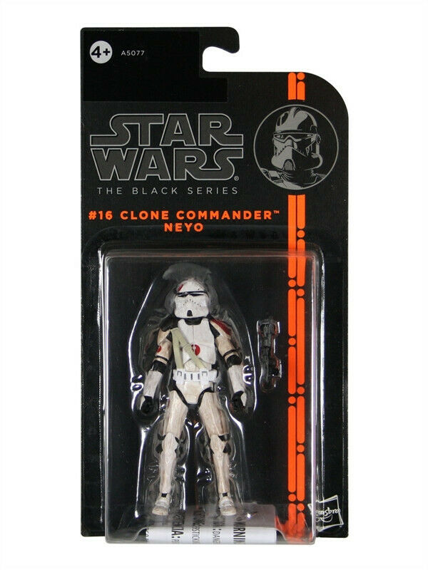 2013 Star Wars The Black Series #16: CLONE COMMANDER NEYO MOC