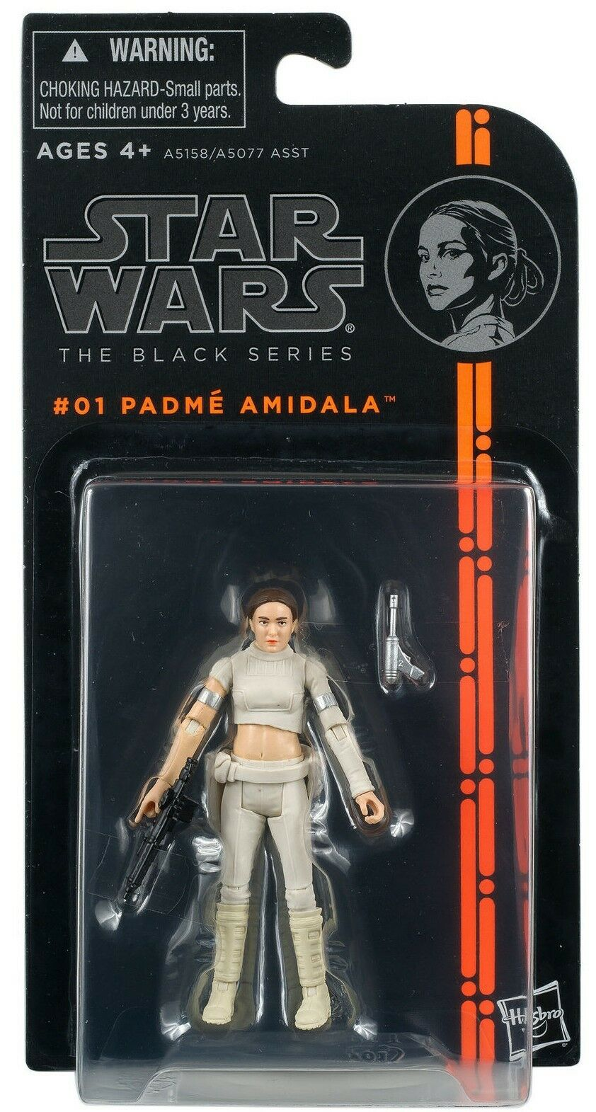2013 Star Wars The Black Series #01: PADME AMIDALA Sealed MOC