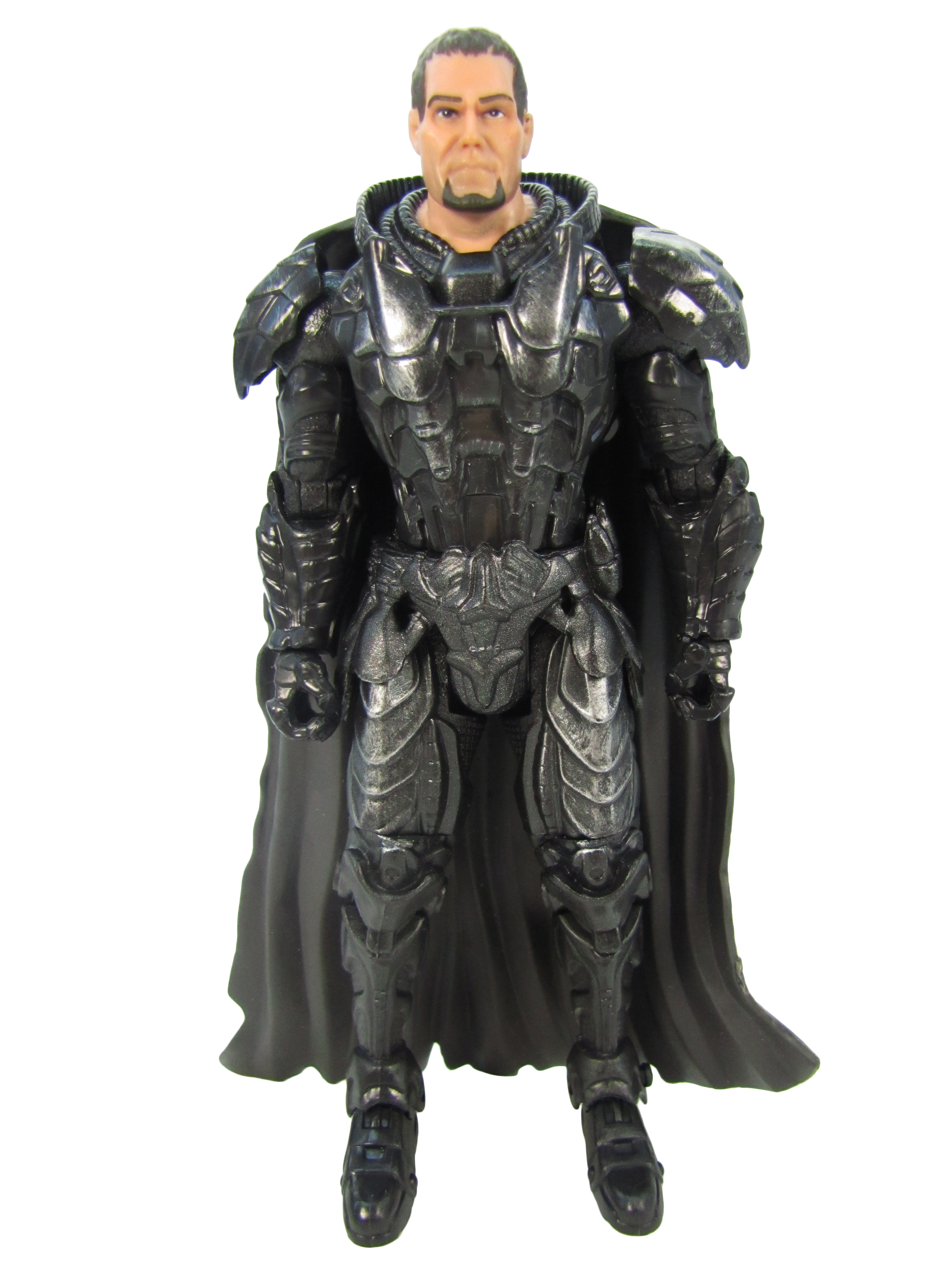 2013 Superman Man Of Steel Movie Masters GENERAL ZOD KRYPTONIAN ARMOR Complete