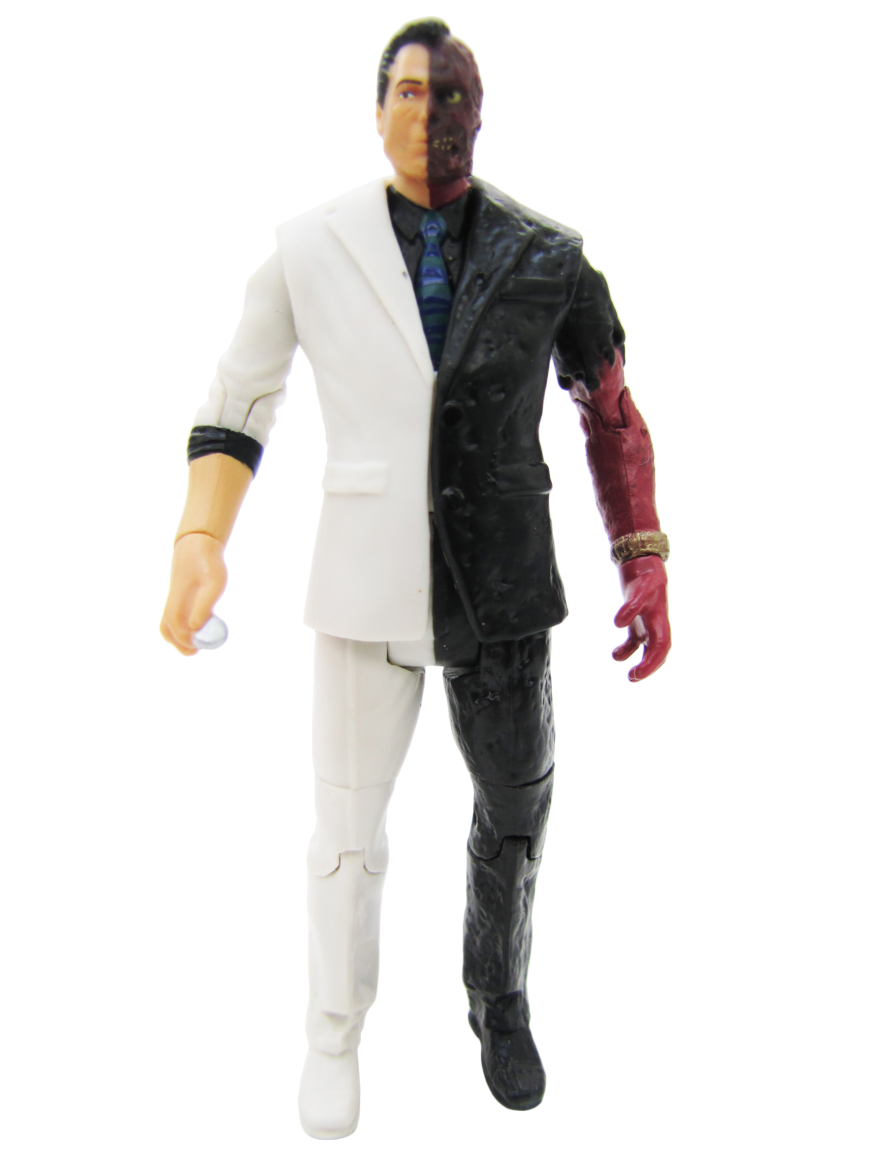 2014 Mattel DC Comics Multiverse Batman Arkham Knight TWO-FACE Complete Mint