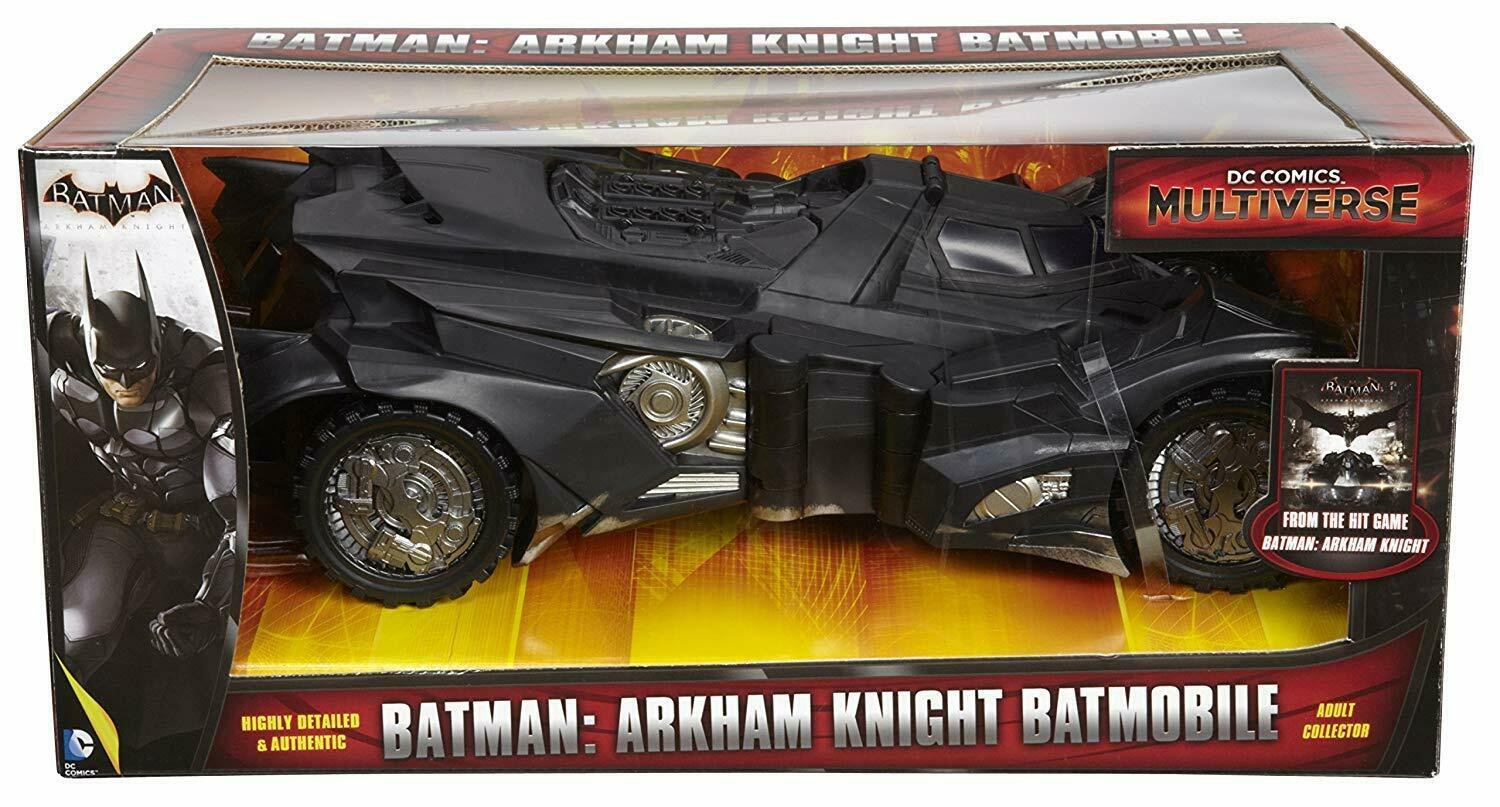 2015 DC Comics Multiverse Batman Arkham Knight BATMOBILE Mint in Box NEW