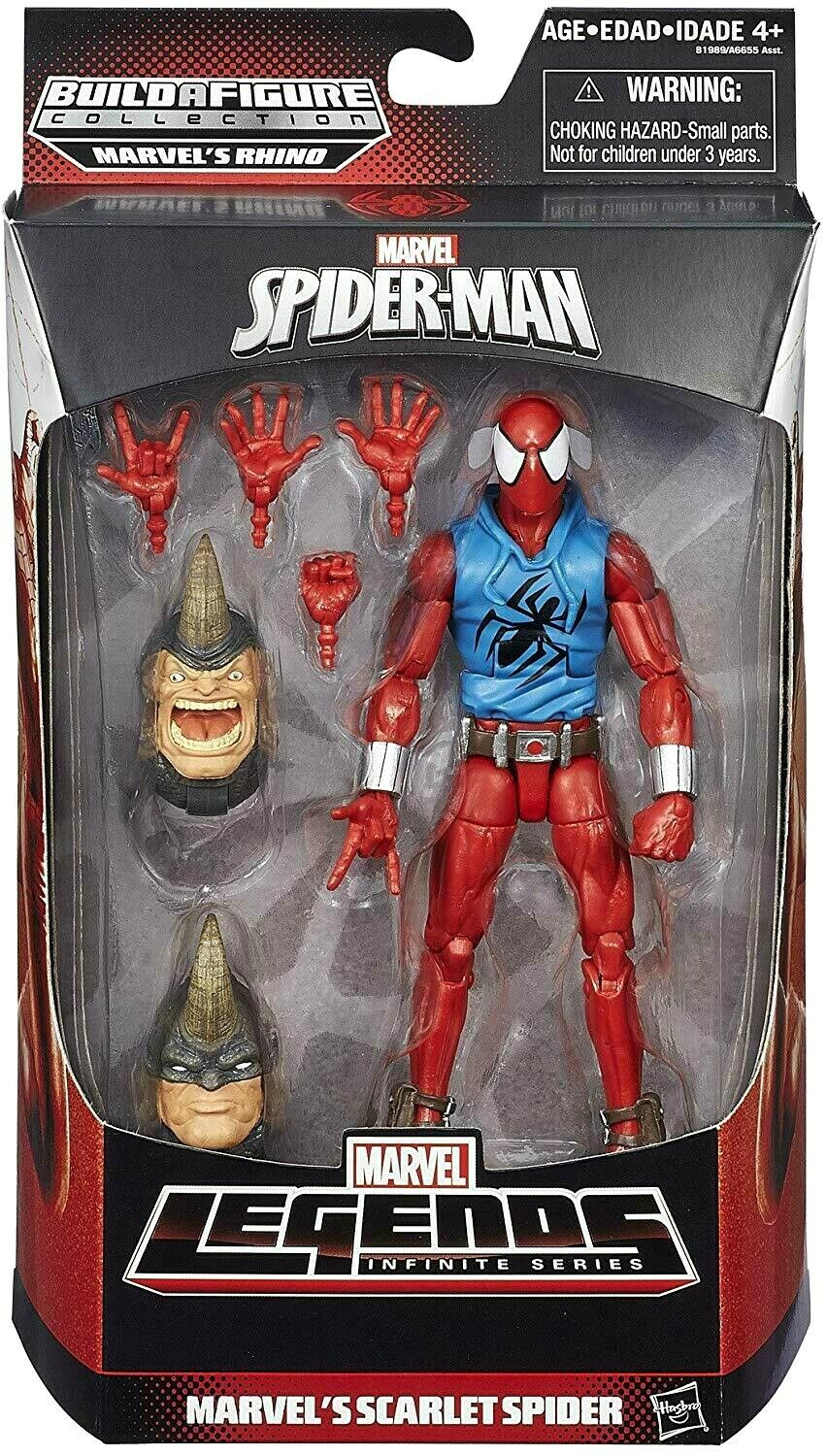 2015 Marvel Legends Infinite Series SCARLET SPIDER RHINO Series Sealed NEW