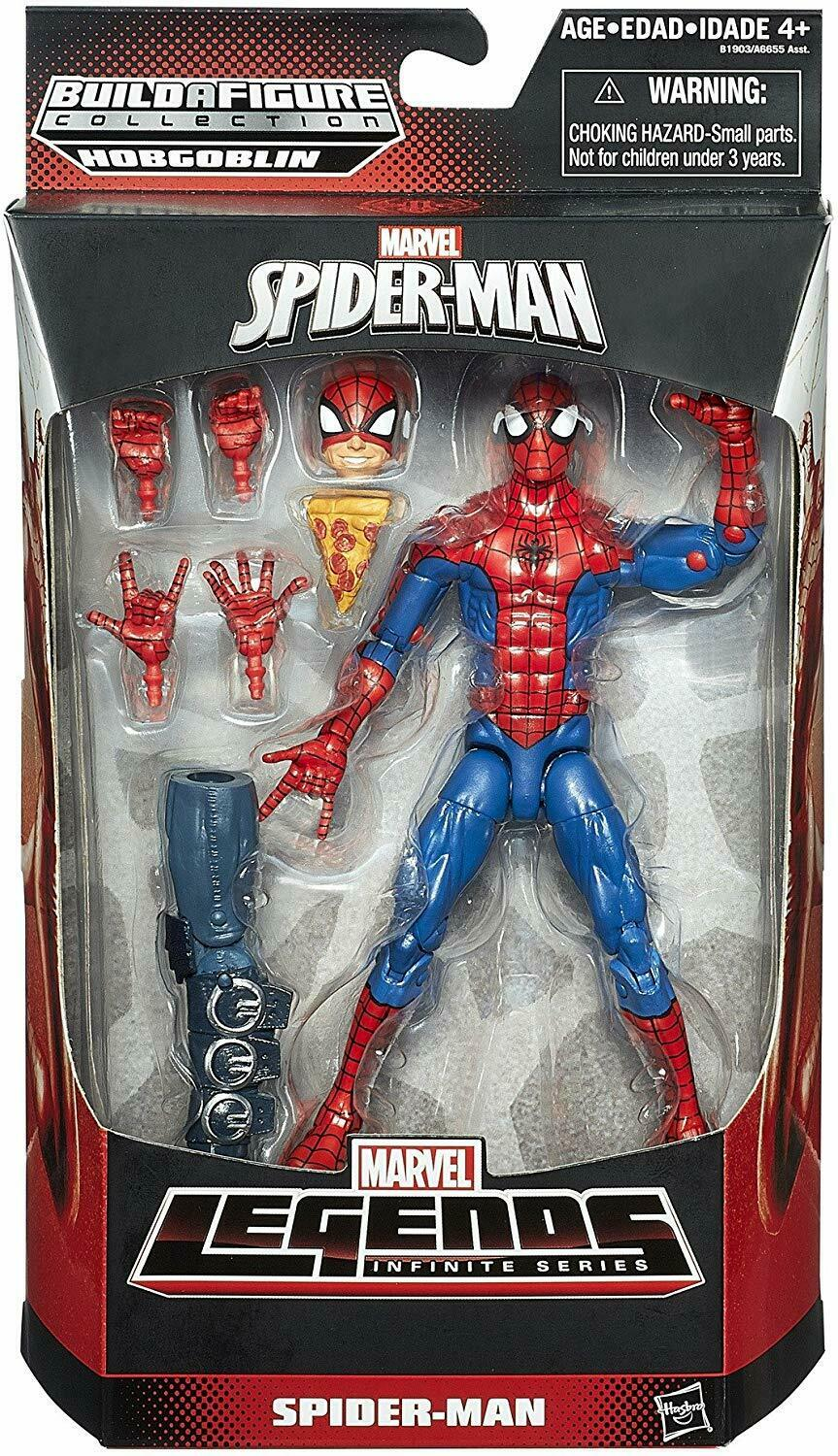 2015 Marvel Legends Infinite Series SPIDER-MAN PIZZA HOBGOBLIN Series Sealed NEW