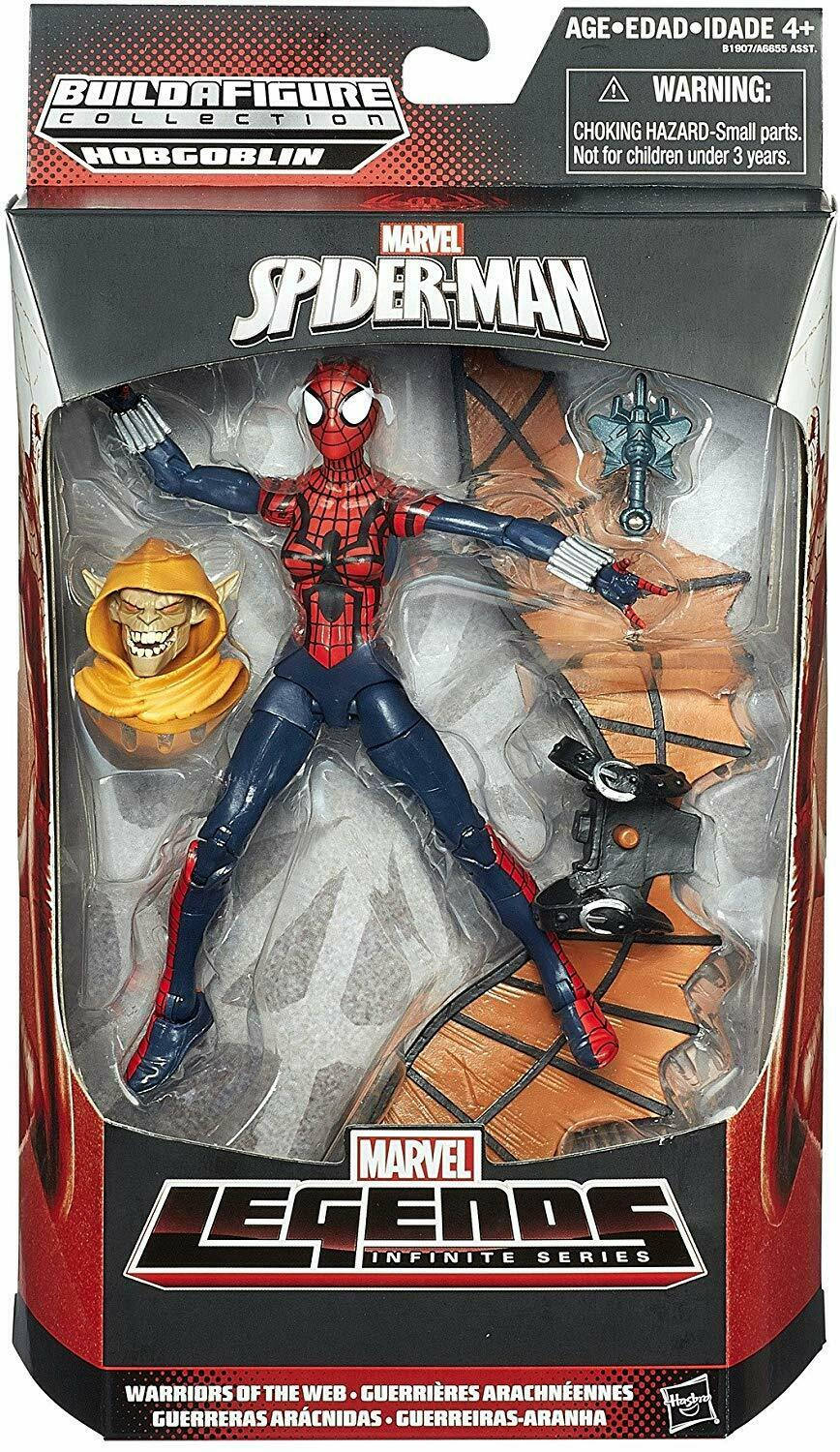 2015 Marvel Legends Warriors Of The Web SPIDER-GIRL HOBGOBLIN Series Sealed NEW