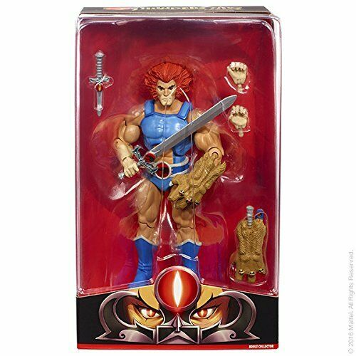 2016 ThunderCats Matty Collector Club Third Earth LION-O Mint Sealed NEW