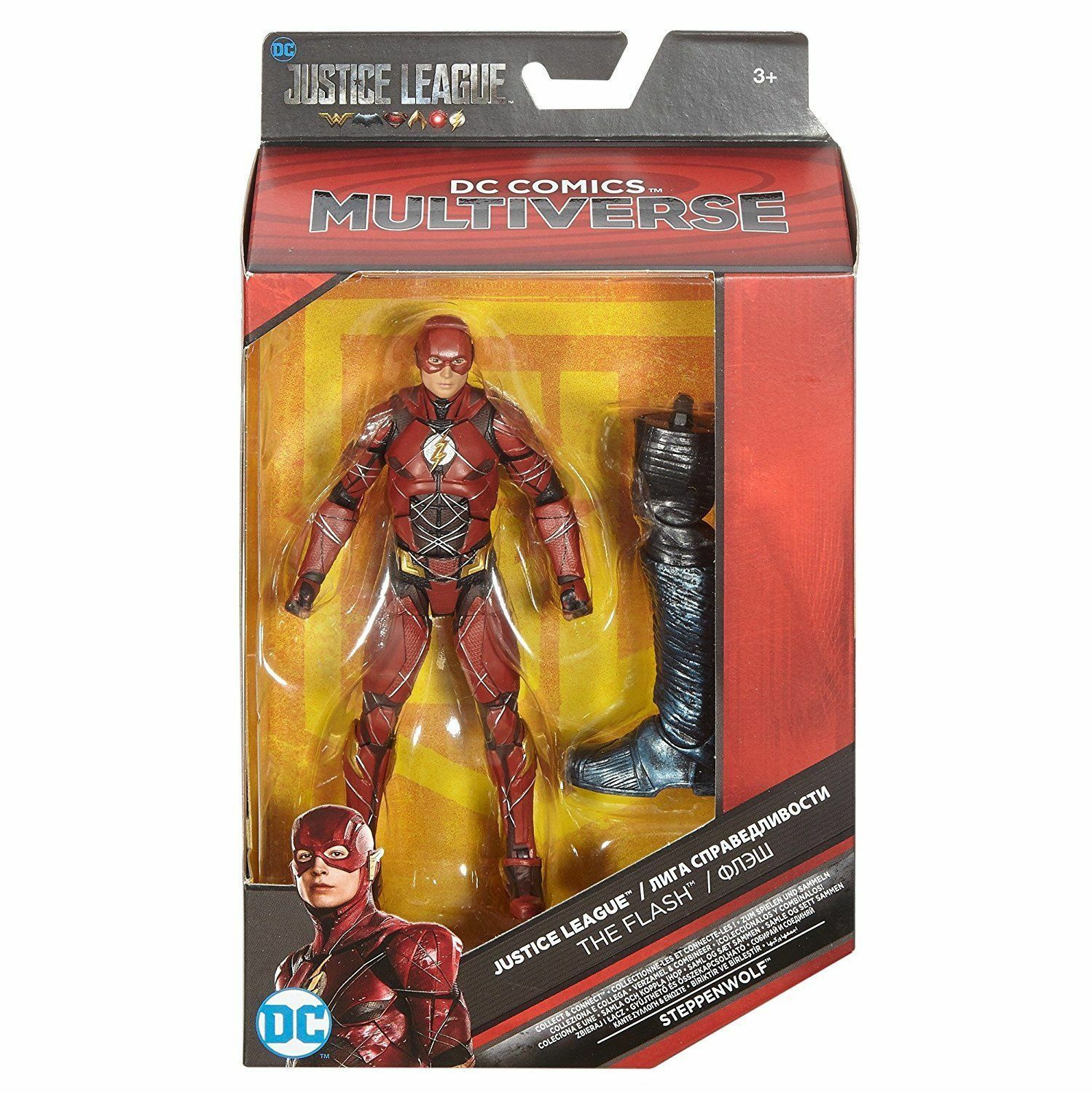 2017 DC Comics Multiverse Justice League THE FLASH Collect & Connect Steppenwolf