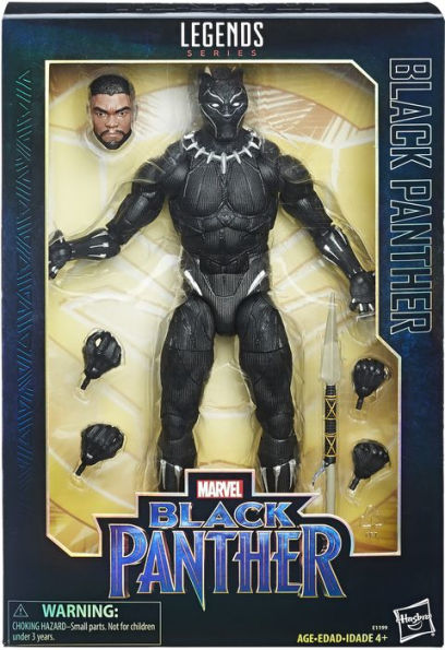"2017 Marvel Legends 12"" Legends Series BLACK PANTHER Mint in Box Sealed NEW"