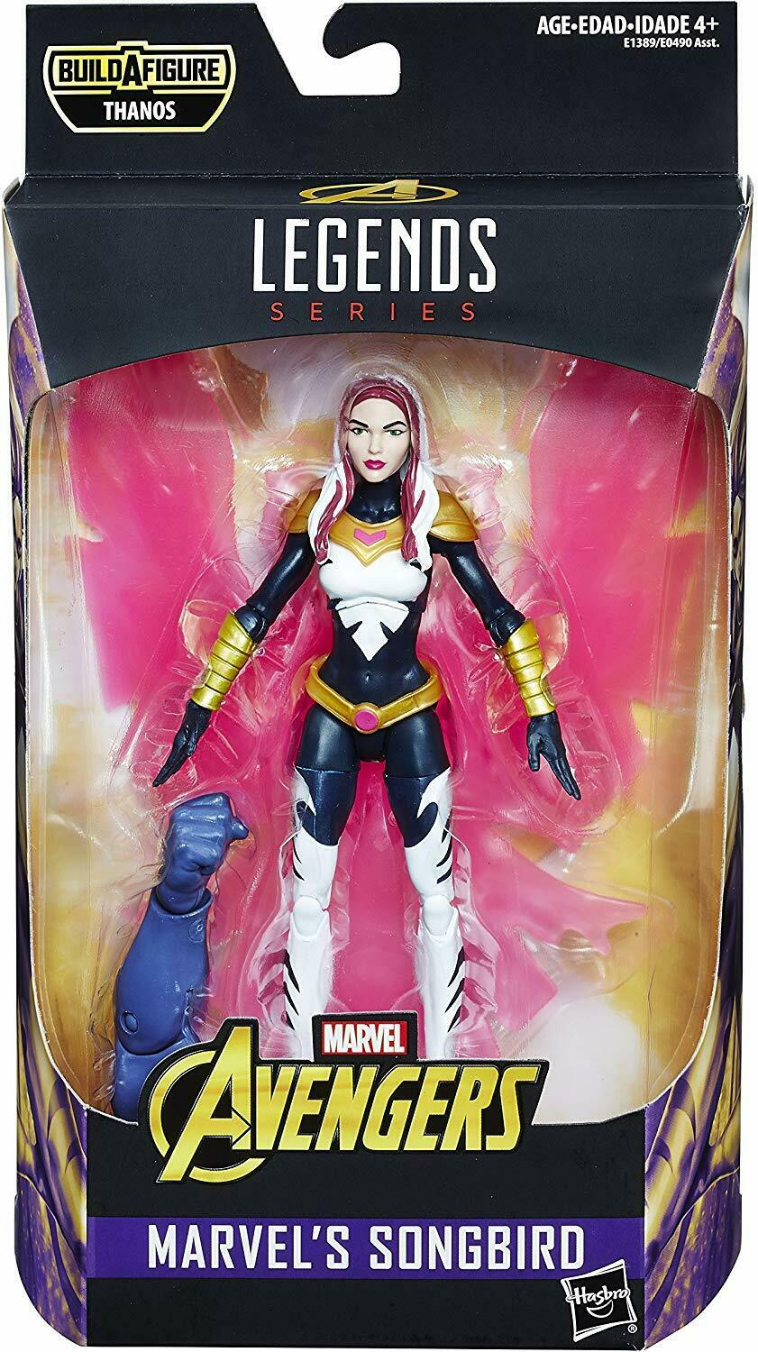 2018 Marvel Legends Avengers Infinity War SONGBIRD THANOS Series Sealed NEW