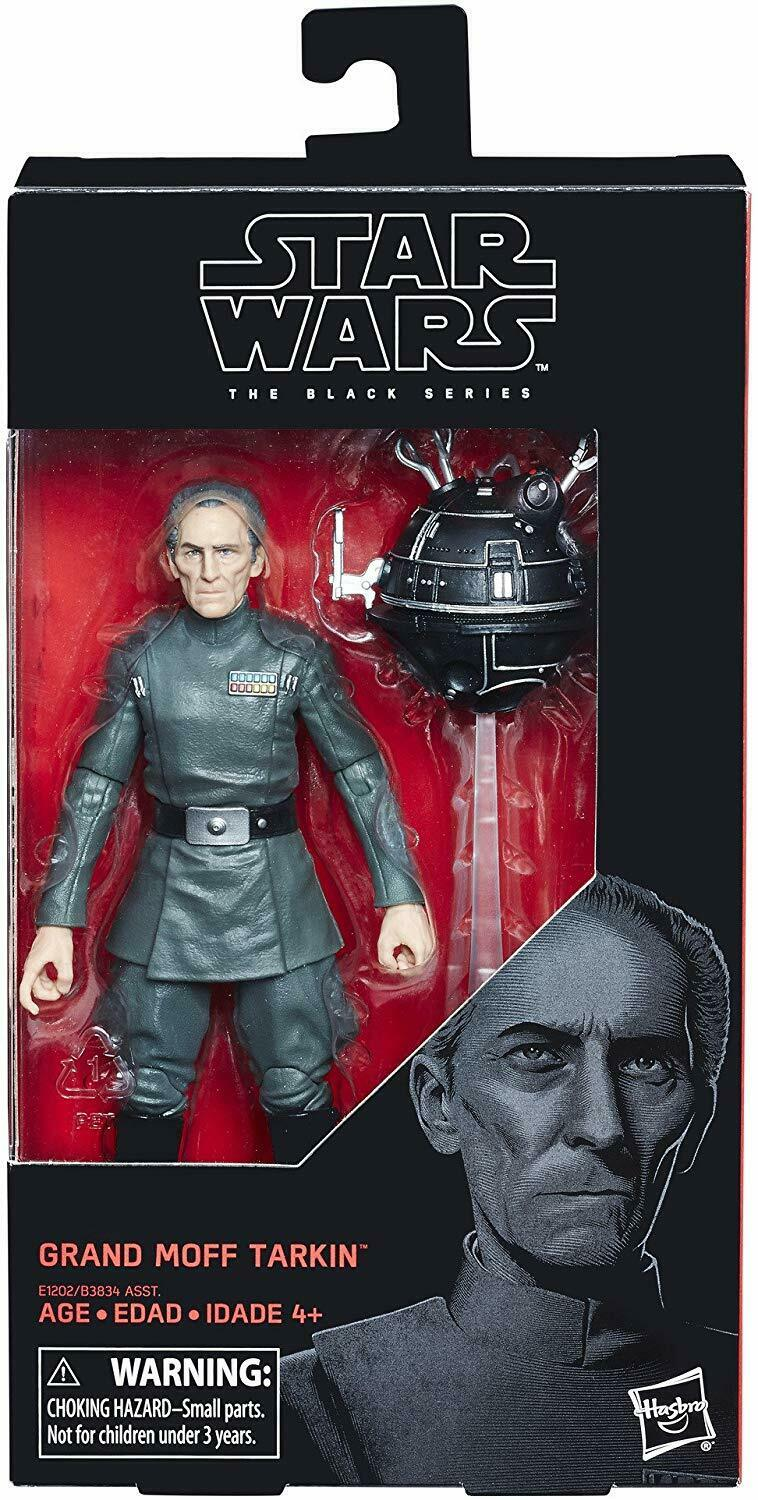 "2018 Star Wars Black Series 6"" #63 GRAND MOFF TARKIN A New Hope Sealed NEW"
