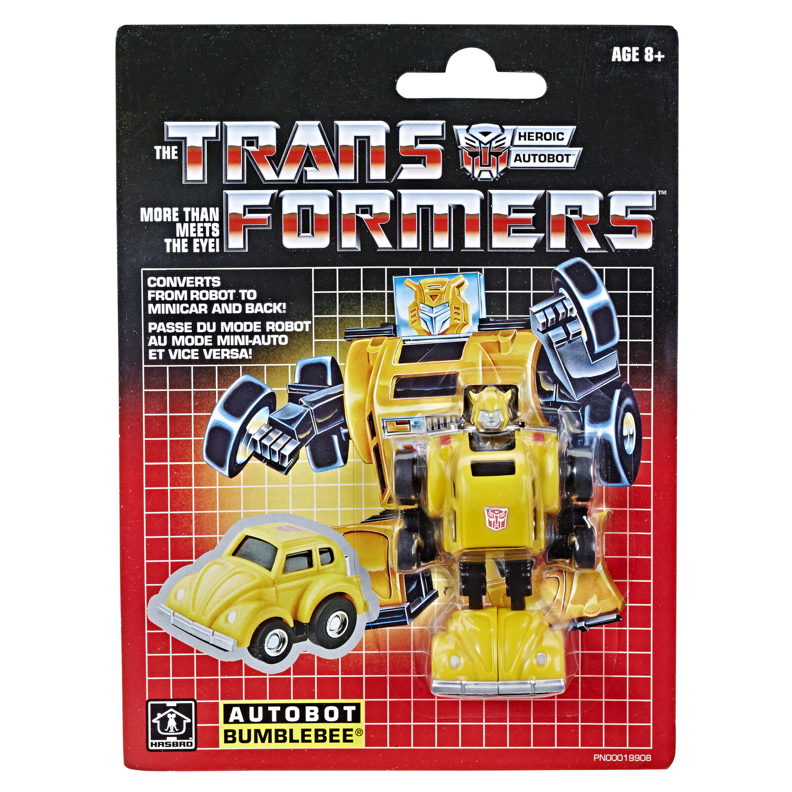 2018 Transformers Minibot Autobot BUMBLEBEE Walmart Exclusive Sealed NEW