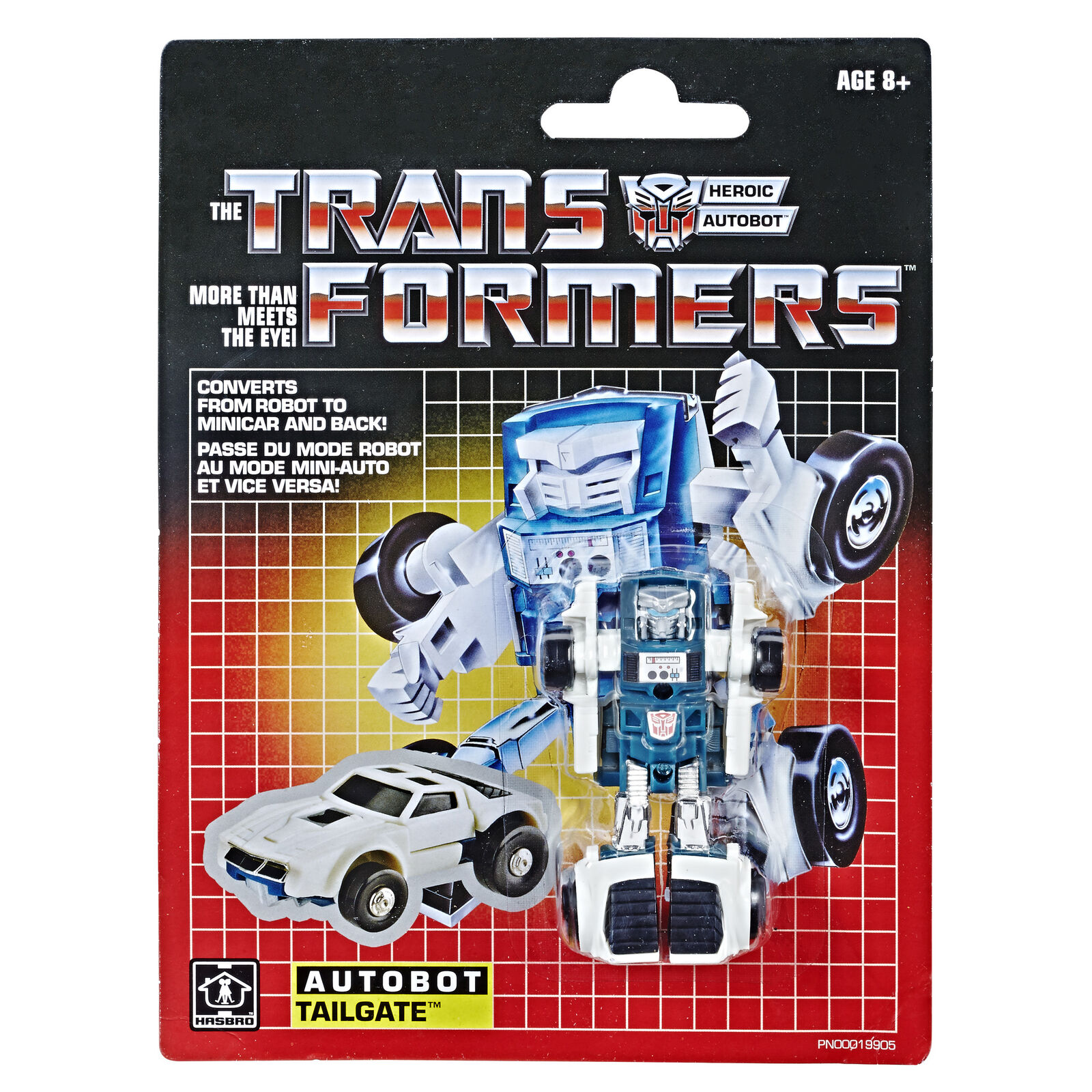 2018 Transformers Minibot Autobot TAILGATE Walmart Exclusive Sealed NEW