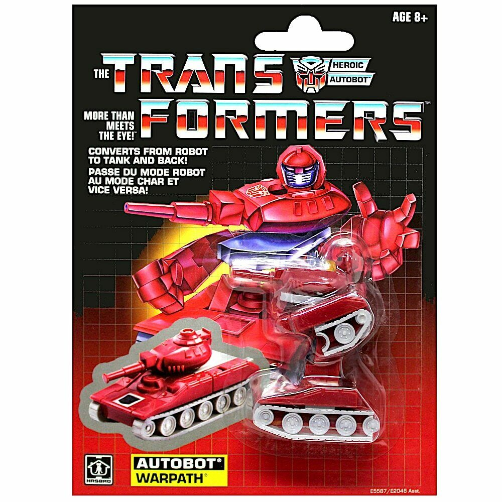 2018 Transformers Minibot Autobot WARPATH Walmart Exclusive Sealed NEW