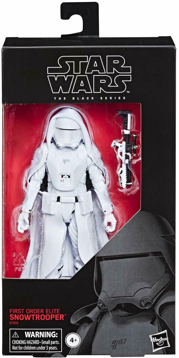 "2019 Star Wars Black Series 6"" FIRST ORDER ELITE SNOWTROOPER Rise of Skywalker"
