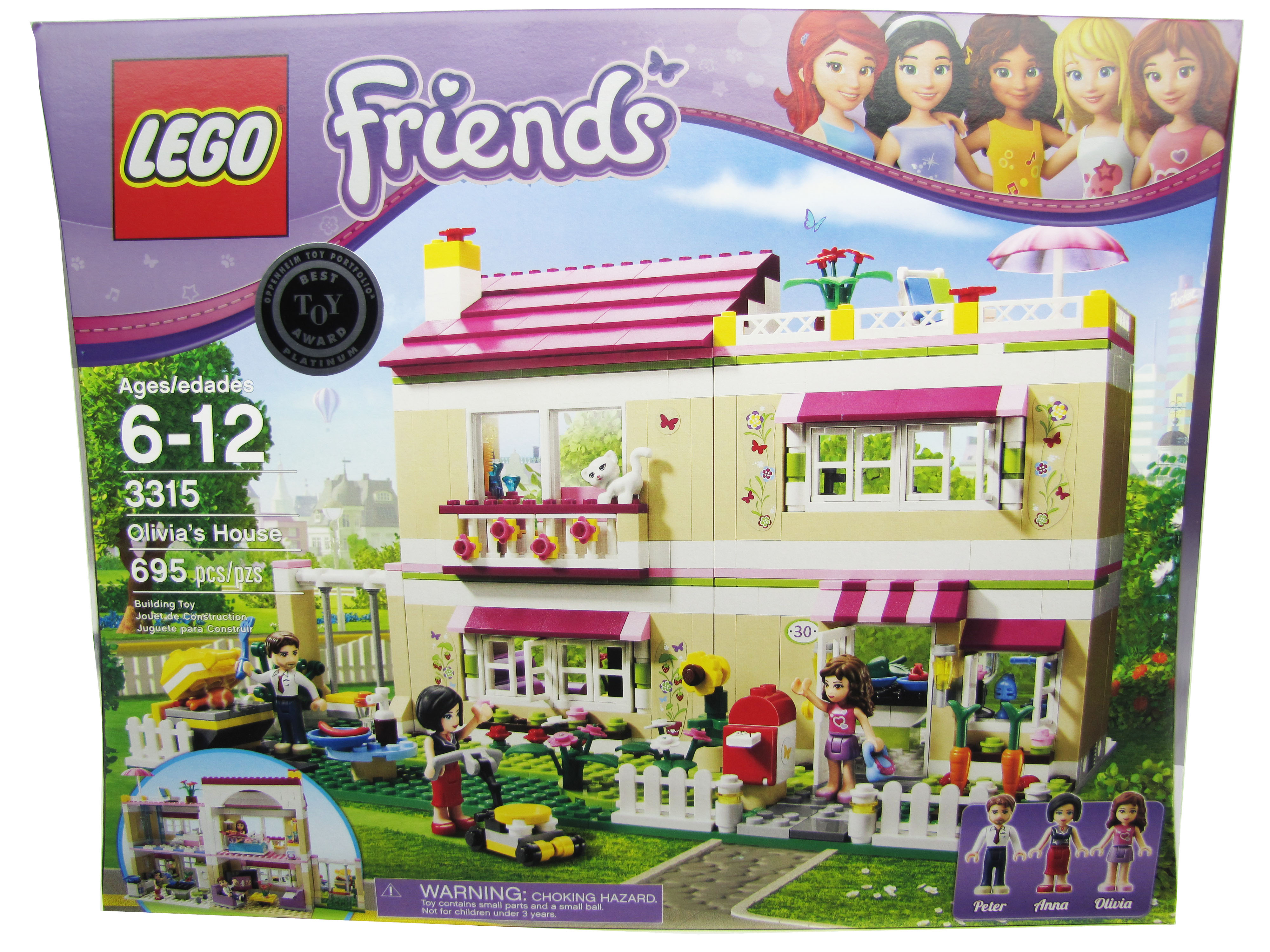 2012 LEGO Friends Olivia's House 3315 New Sealed in Box