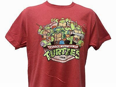 Teenage Mutant Ninja Turtles 1984 Debut Red T-Shirt X-Large