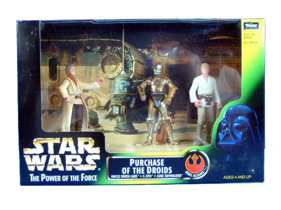 1997 Star Wars POTF2 PURCHASE OF THE DROIDS Sealed