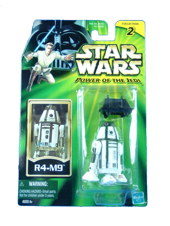 2002 Star Wars Power of the Jedi R4-M9 Sealed Mint on Card