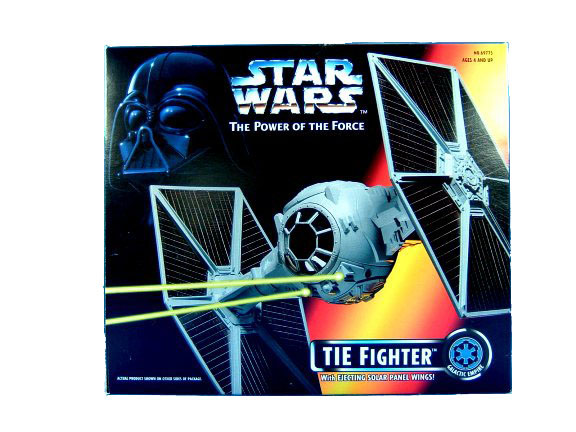 1995 Star Wars POTF2 TIE FIGHTER in Sealed Box