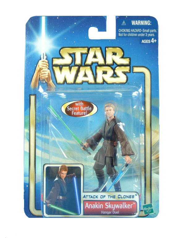 2002 Star Wars Saga ANAKIN SKYWALKER Hangar Duel Sealed MOC