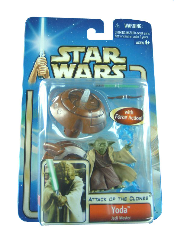 2002 Star Wars Saga YODA Jedi Master Sealed Mint on Card