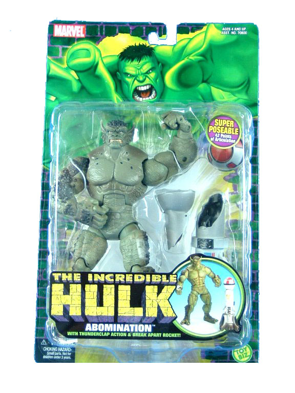 Marvel The Incredible Hulk Abomination MOC