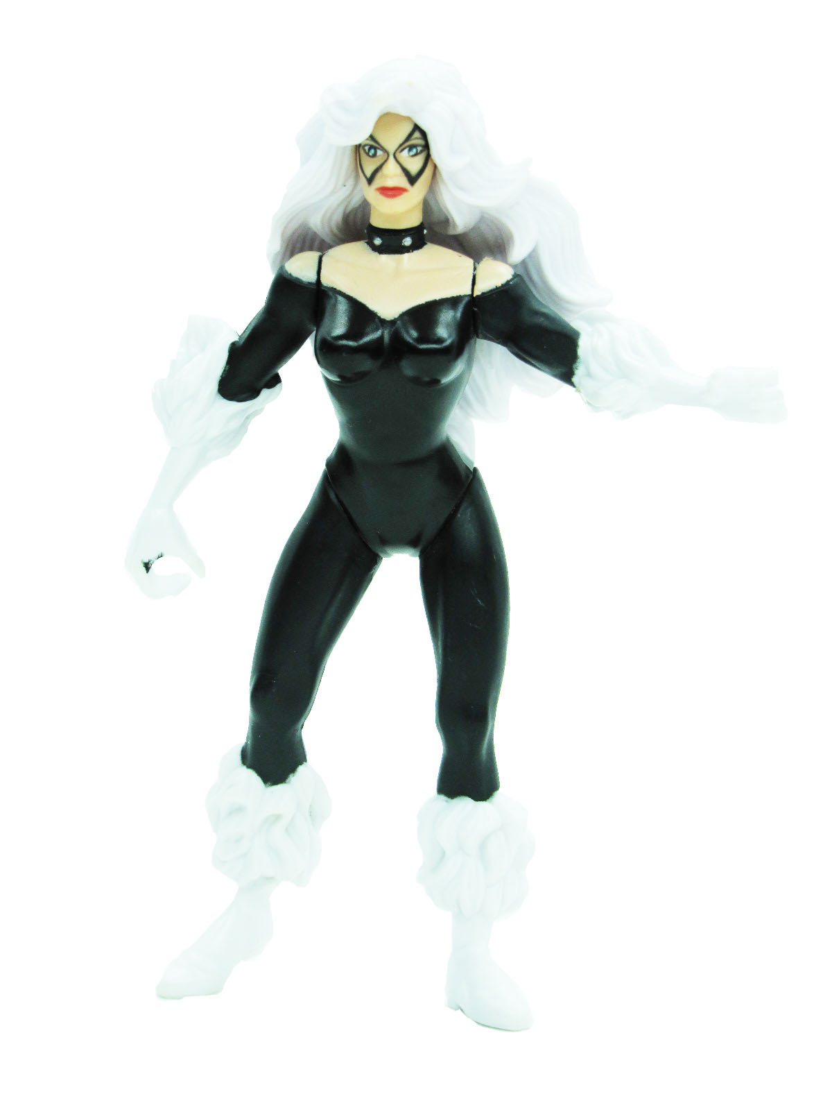 Spider-Man Animated Series Spider Wars Black Cat Complete