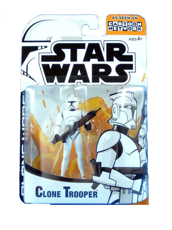 2003 Star Wars Clone Wars Animated Series CLONE TROOPER Sealed