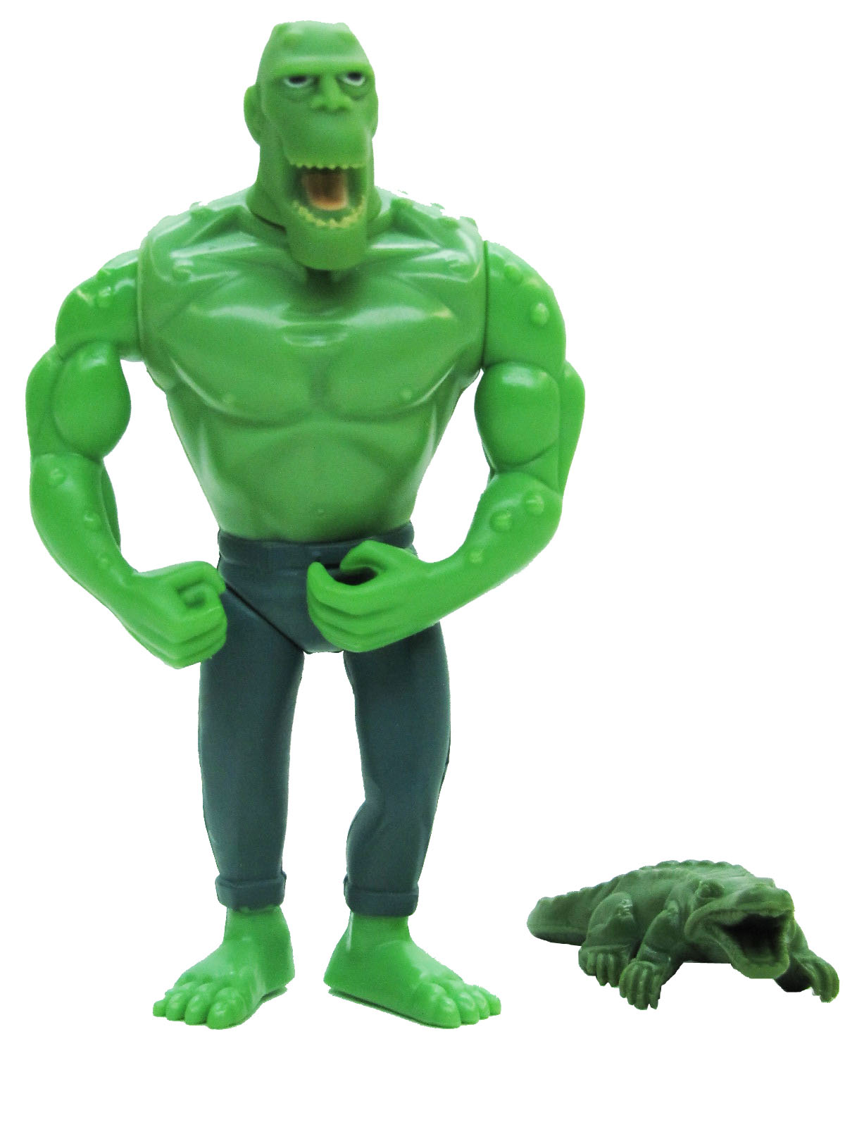 Batman The Animated Series Puppets of Crime Killer Croc Complete