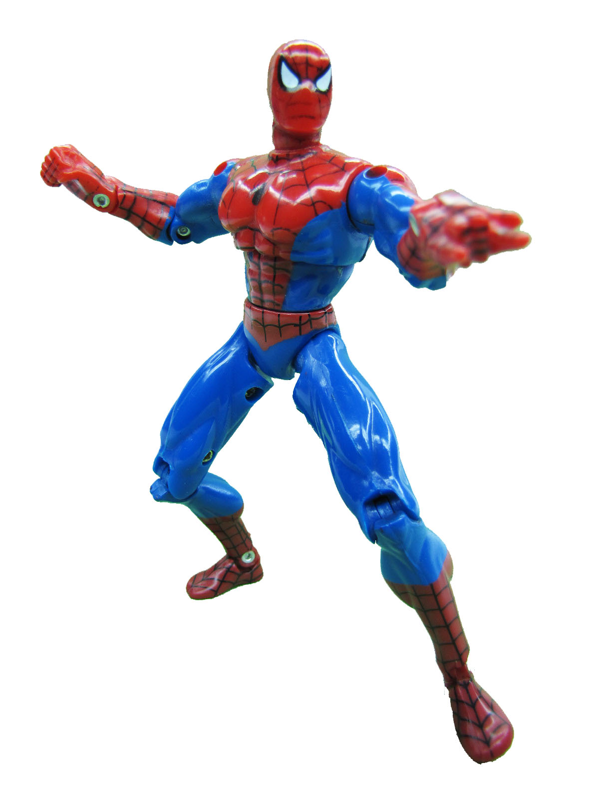 Spider-Man Animated Series Spider-Man Super Poseable Complete