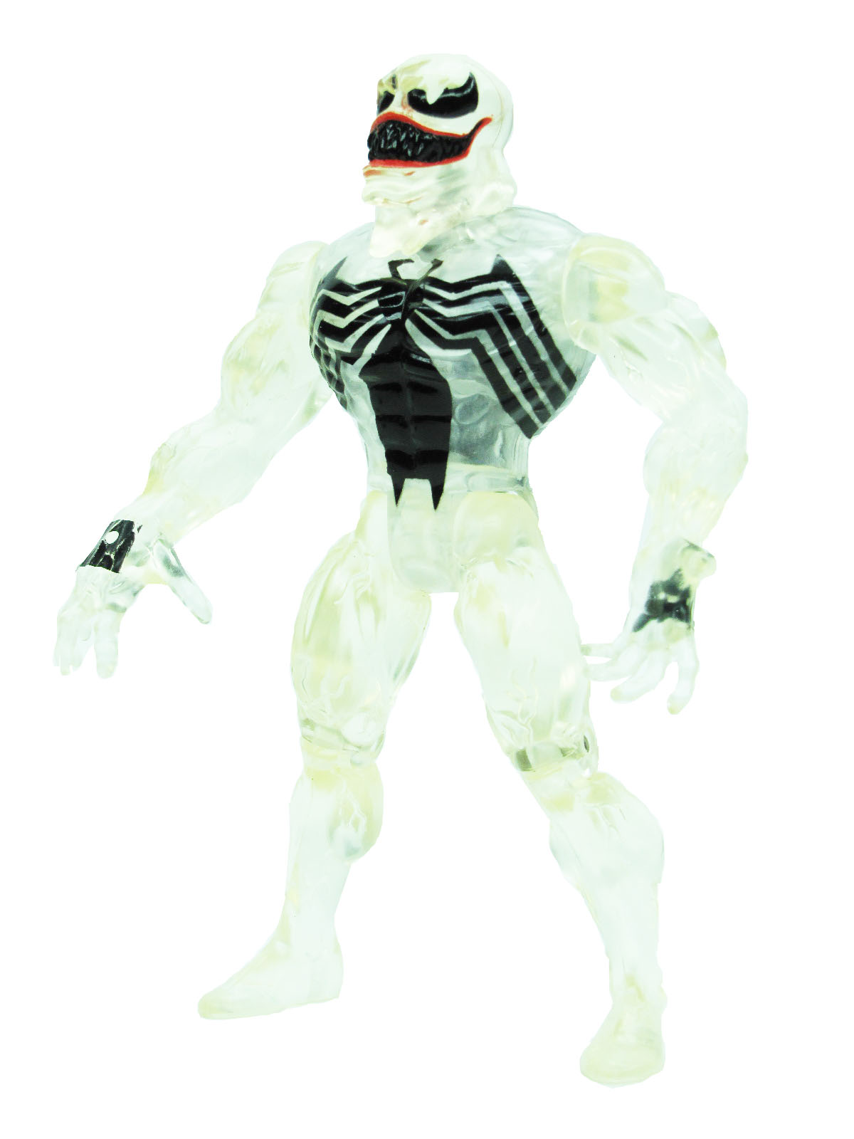 Spider-Man Animated Series Stealth Invisible Venom Complete
