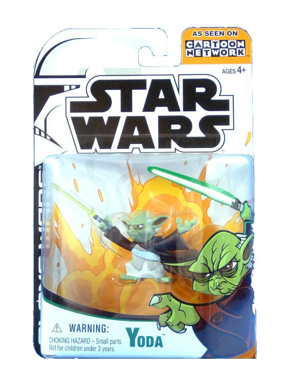 2003 Star Wars Clone Wars Animated Series YODA Sealed