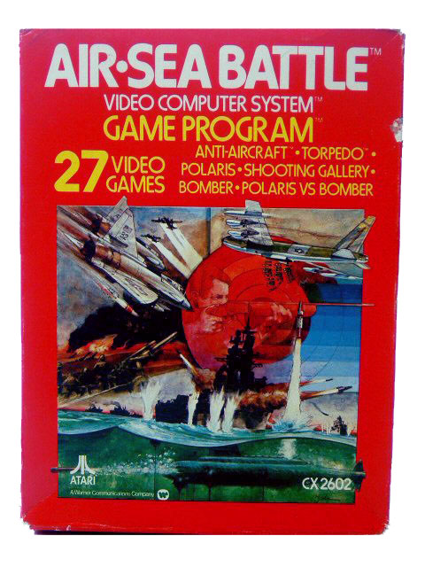 Atari 2600 Air Sea Battle Complete in Box - 1977