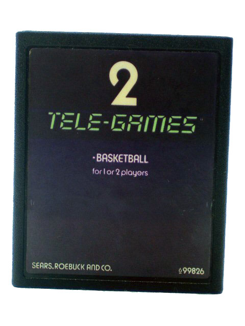 Atari 2600 Basketball 2 Tele Games - 1977