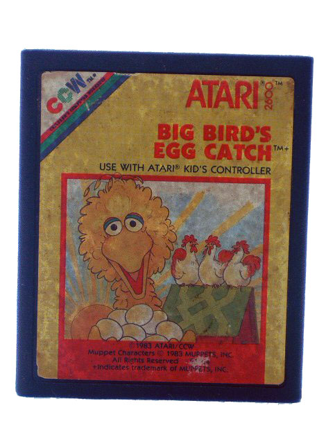 Atari 2600 Big Bird's Egg Catch - 1983
