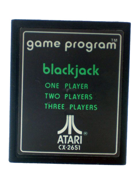 Atari 2600 Blackjack - 1977
