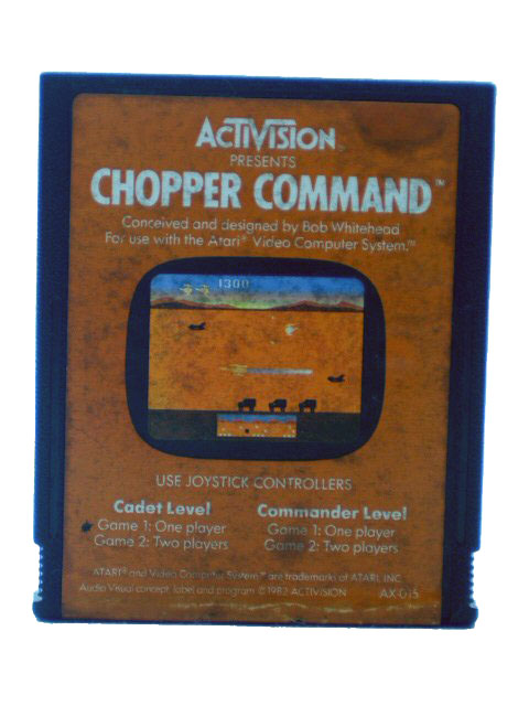 Atari 2600 Chopper Command - 1982